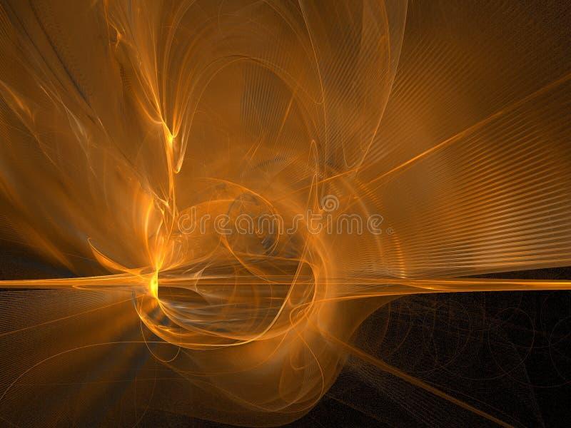 Krachtige zonsopgang vector illustratie