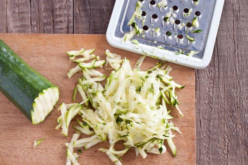 Kraciasty zucchini obraz royalty free