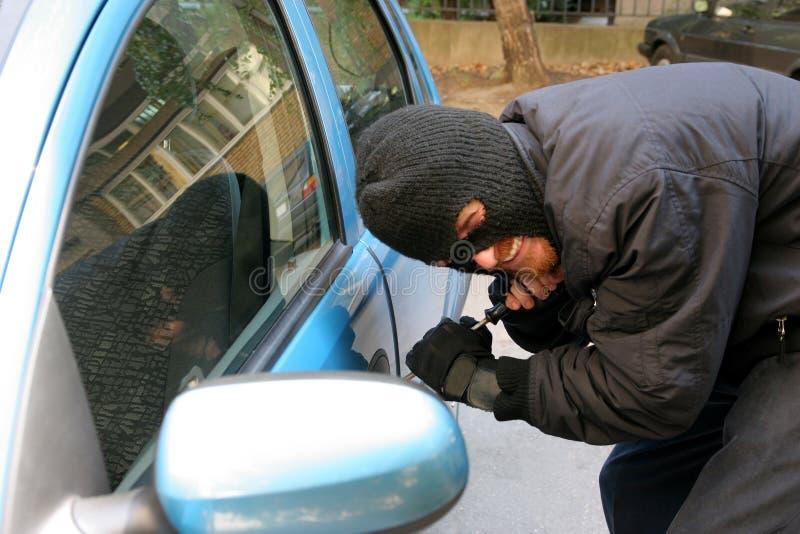 kradzież samochodu fotografia stock