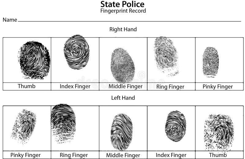 kradzież tożsamości ilustracji