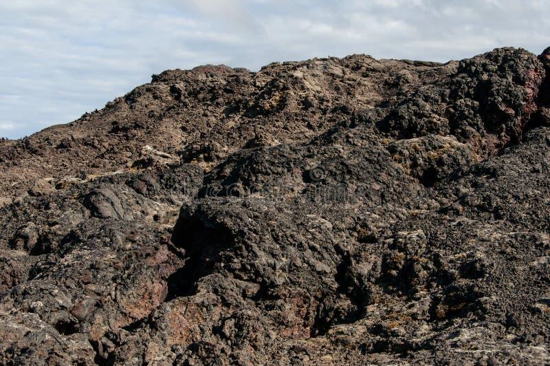 Krafla is een vulkanisch systeem met een diameter van ongeveer 20 die kilometers in het gebied van MÃ ½ worden gesitueerd vatn, h stock foto