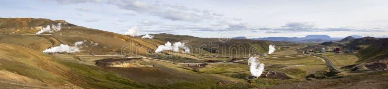 Krafla Power Station, Iceland stock photography