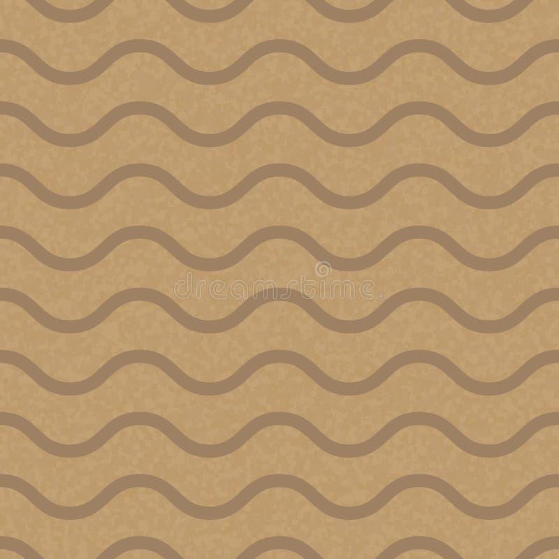 Kraft återanvände den pappers- texturvektorn vektor illustrationer