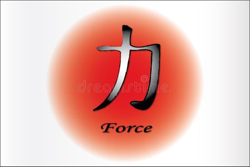 kraft vektor illustrationer