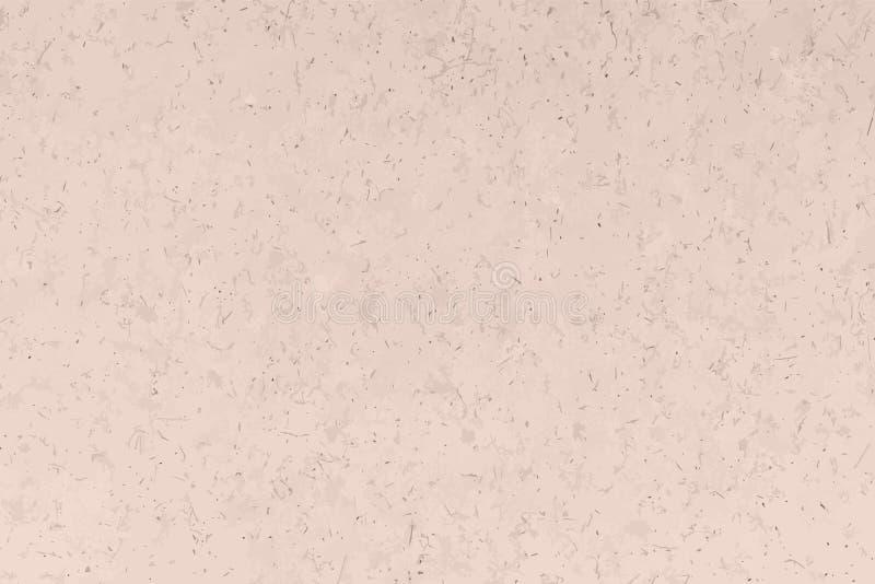 Kraft beige textur, bakgrund och tapet vektor illustrationer