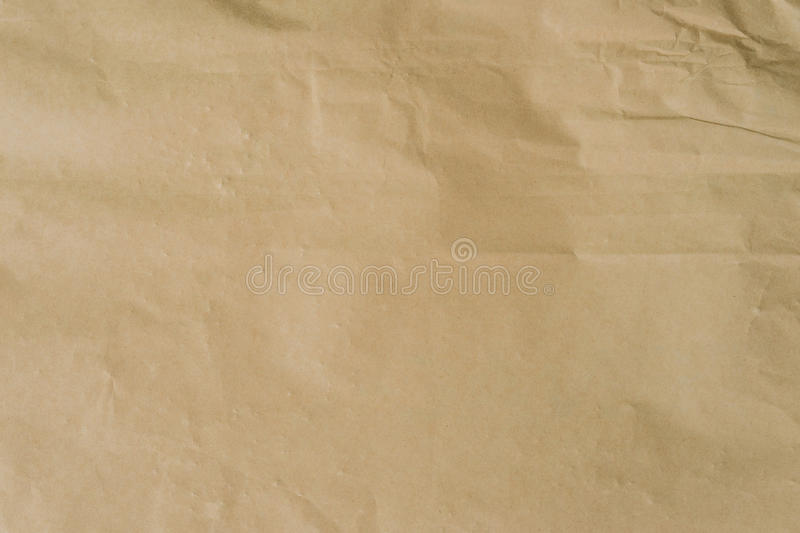Kraft brown paper and crumpled background texture with space. stock photos