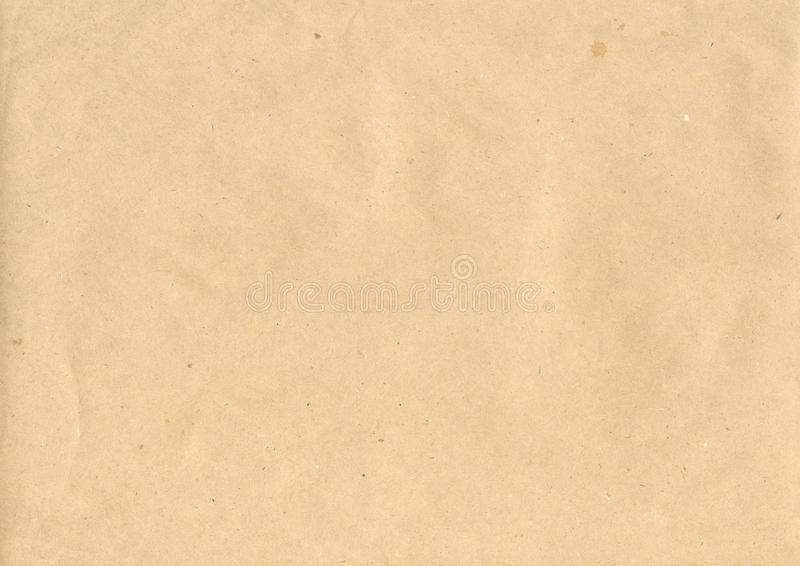 kraft papier fotografia stock