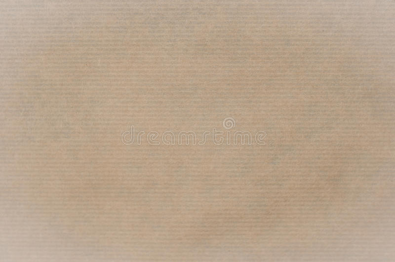 Kraft papieru tło lub tekstura zdjęcie stock