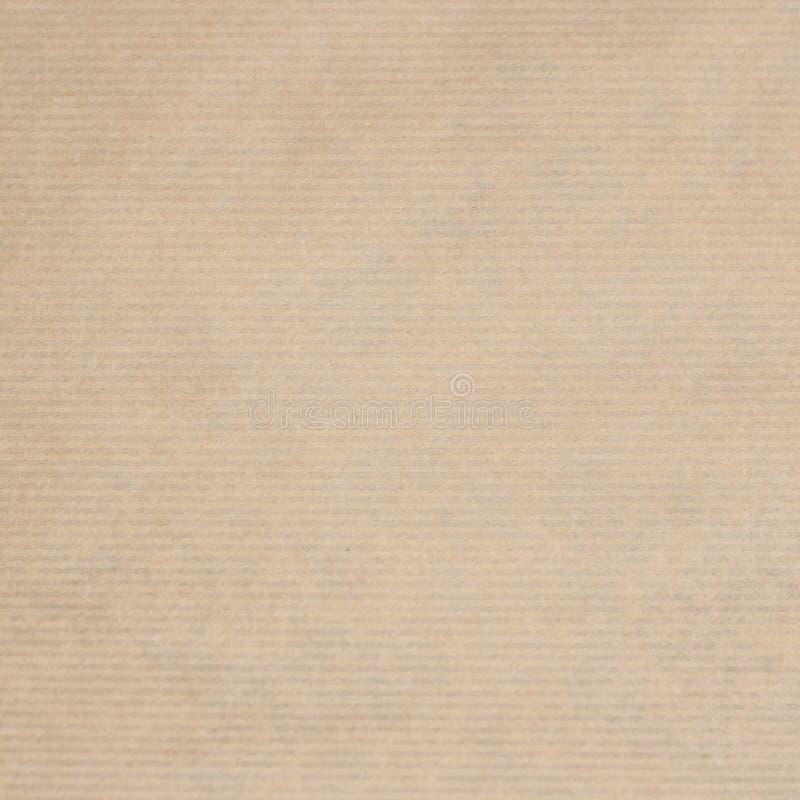 Kraft papieru tło lub tekstura zdjęcia stock