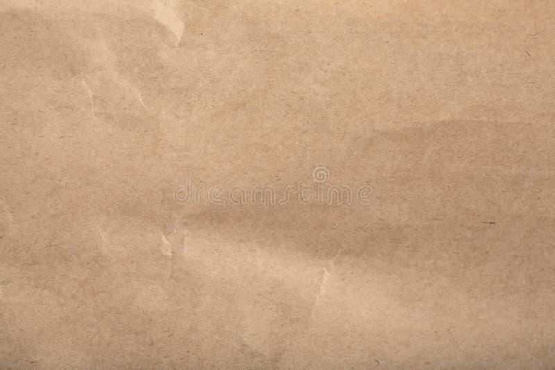 Kraft papieru tekstura, tło/ obraz stock