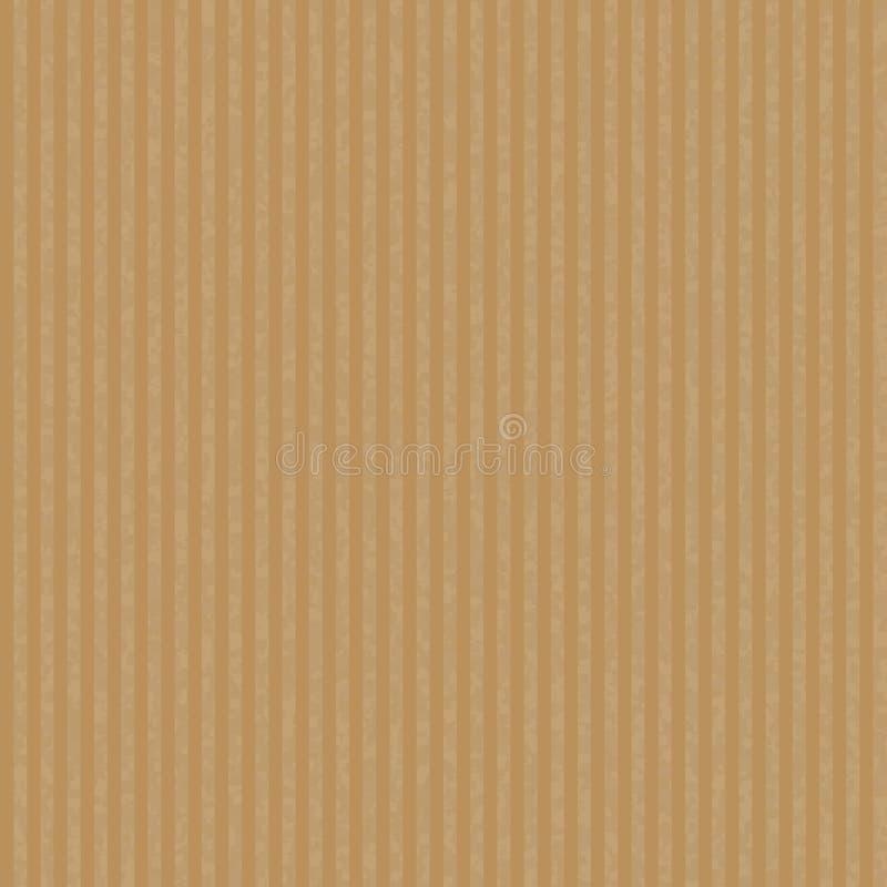 Kraft recicló el vector de papel de la textura stock de ilustración