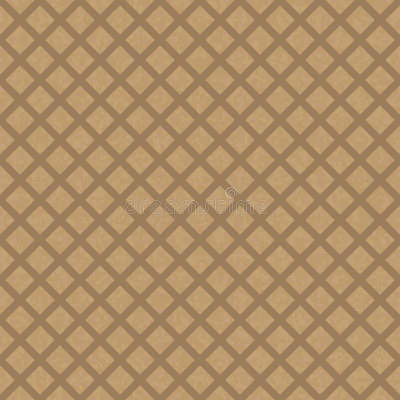 Kraft reciclou o vetor de papel da textura ilustração royalty free