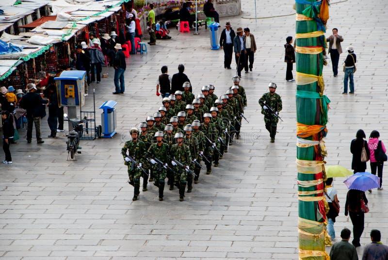 kraft tibet royaltyfri foto