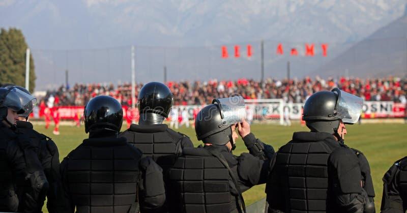 krafter förser med polis specialen arkivfoto