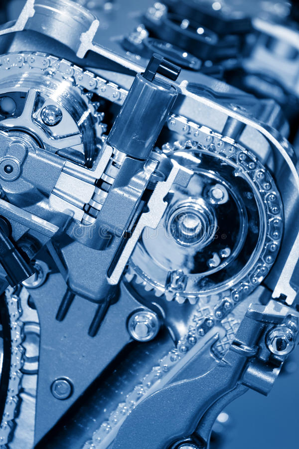 Kraftfahrzeugmotor lizenzfreies stockbild