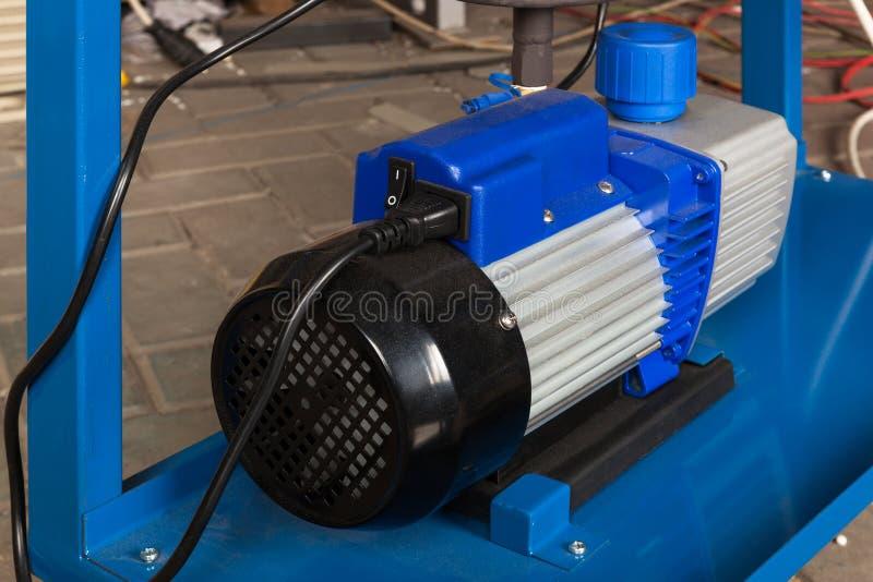 Kraftig elektrisk motor fotografering för bildbyråer