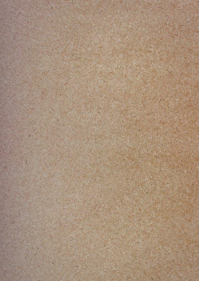 Kraftpapier-document achtergrond, fotografische echte textuur stock foto
