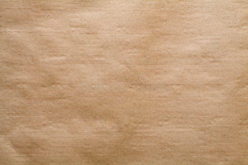 Kraftpapier-document textuur stock afbeelding