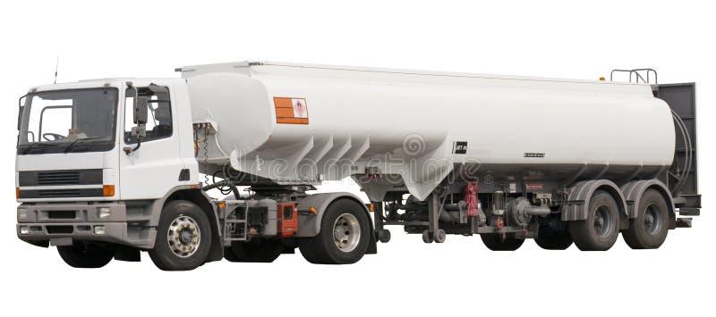Kraftstoff-LKW stockfotografie