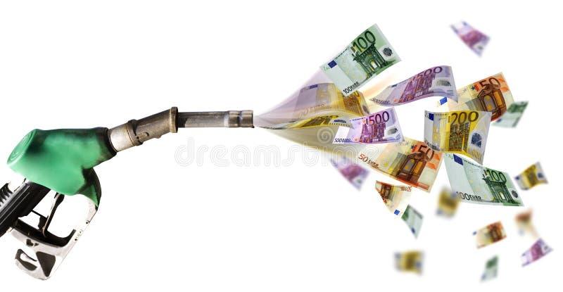 Kraftstoffpreis stockbilder
