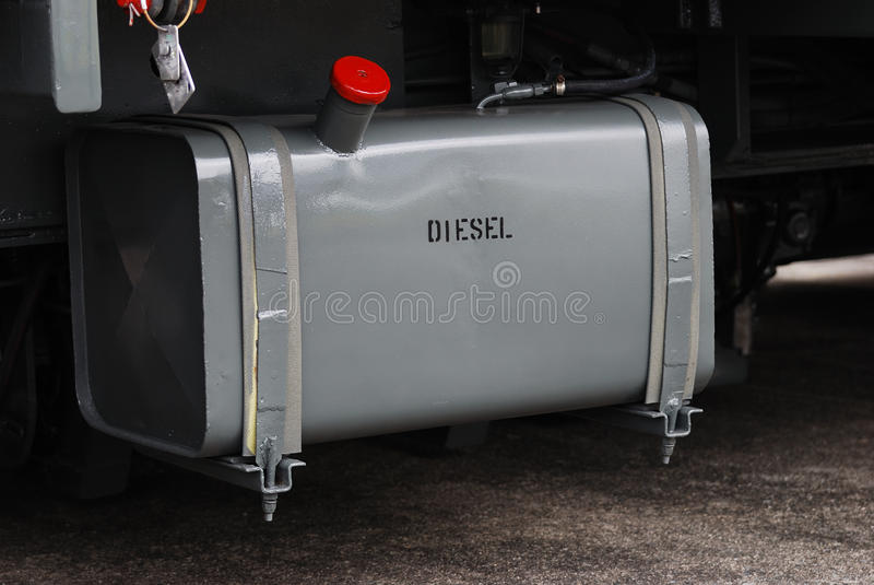 Kraftstofftank. stockfotografie