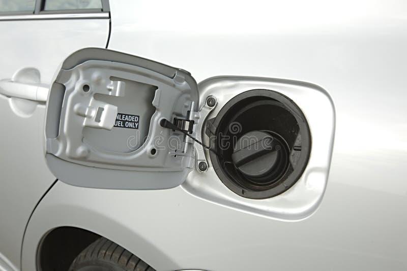 Kraftstofftank eines Autos lizenzfreie stockfotos