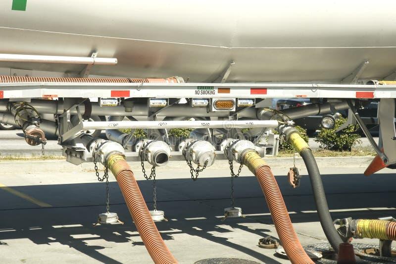 Kraftstoffumfüllung stockbilder
