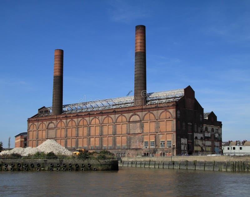 Kraftwerk lizenzfreies stockbild