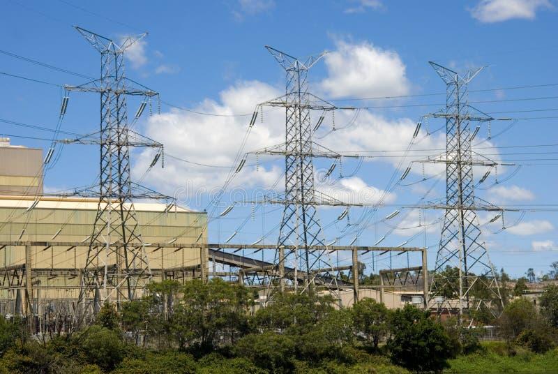 Kraftwerk lizenzfreie stockfotos