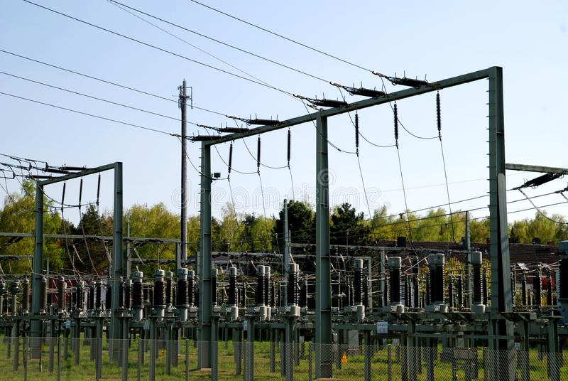 Kraftwerk Kostenlose Stockfotografie