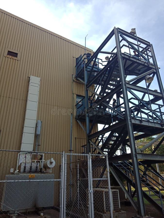 Kraftwerk in Bataan lizenzfreie stockfotografie