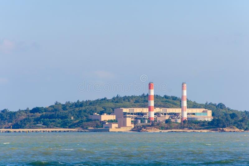 Kraftwerk in Kinmen, Taiwan lizenzfreie stockbilder
