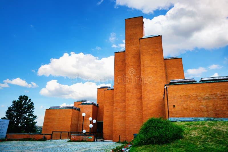 Kragujevac, Serbie - 17 juillet 2016 : Musée et parc commémoratifs 21 octobre dans Kragujevac, Serbie photographie stock libre de droits