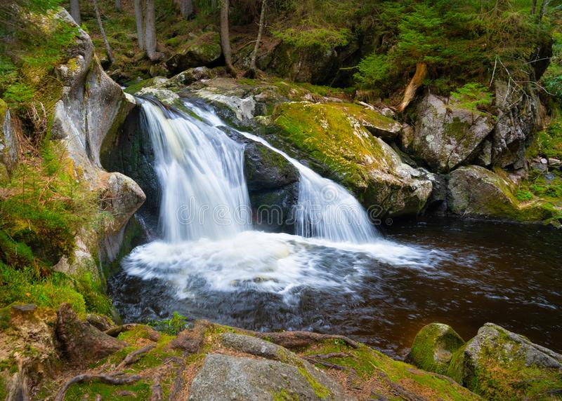 Krai Woog Gumpen Waterfall stock image