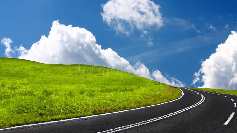 kraj autostrada obraz royalty free