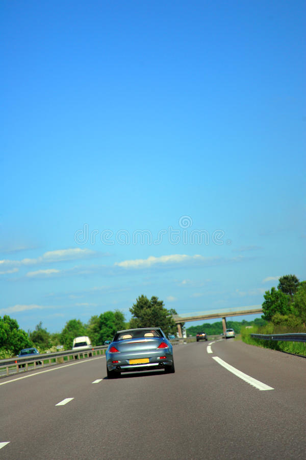 kraj autostrada obrazy stock