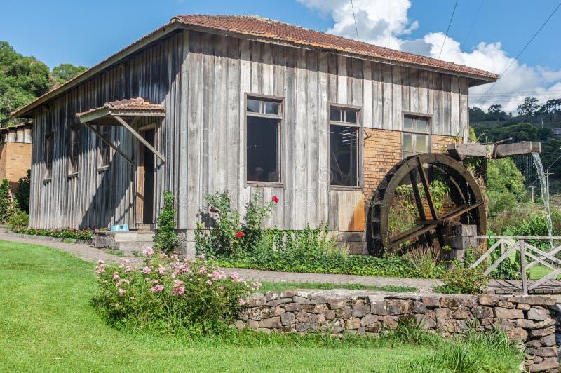 kraj bento domu goncalves stary drewna fotografia stock