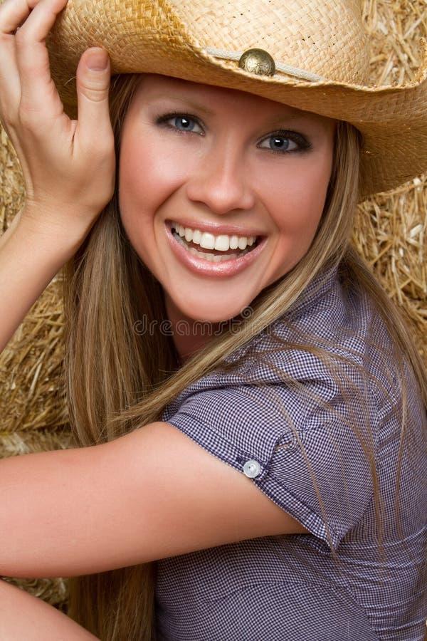 kraj blond dziewczyna zdjęcia stock