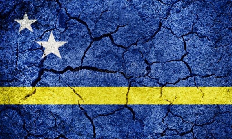 Kraj Curacao flaga obrazy royalty free