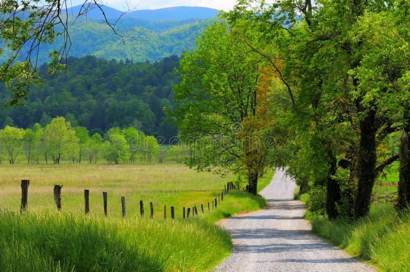 kraj krajobrazowa road obraz stock