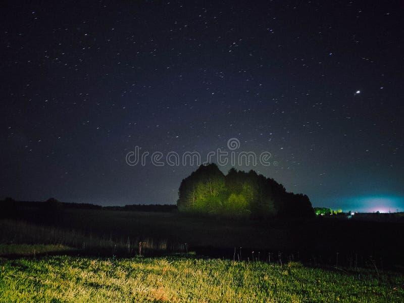 Kraj noce w Korovino zdjęcie royalty free