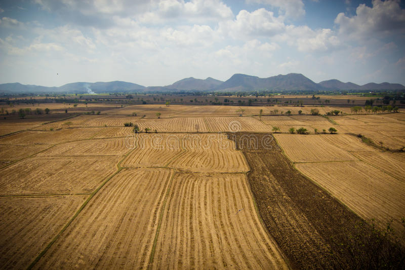 Kraj strony krajobraz - Thailand obrazy royalty free