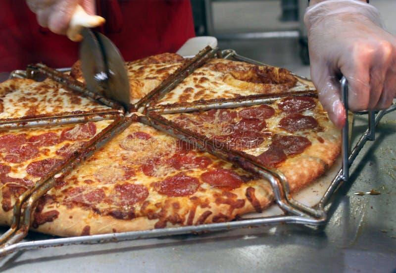 krajacz pizza zdjęcie stock
