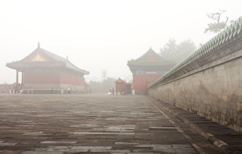Krajobraz świątynia niebo obrazy stock