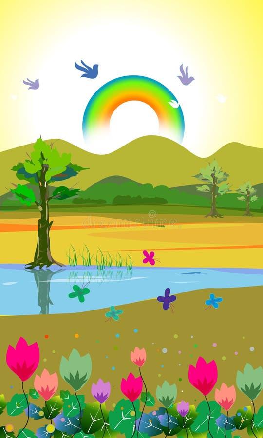 krajobraz ilustracja wektor