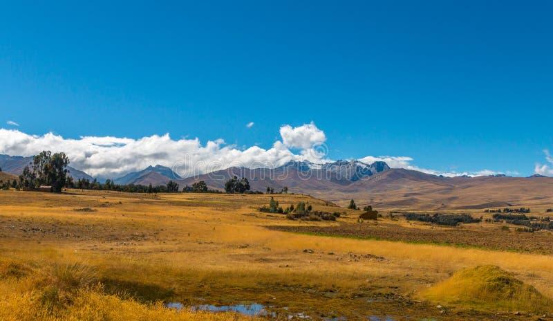 Krajobraz Andes góry obrazy royalty free