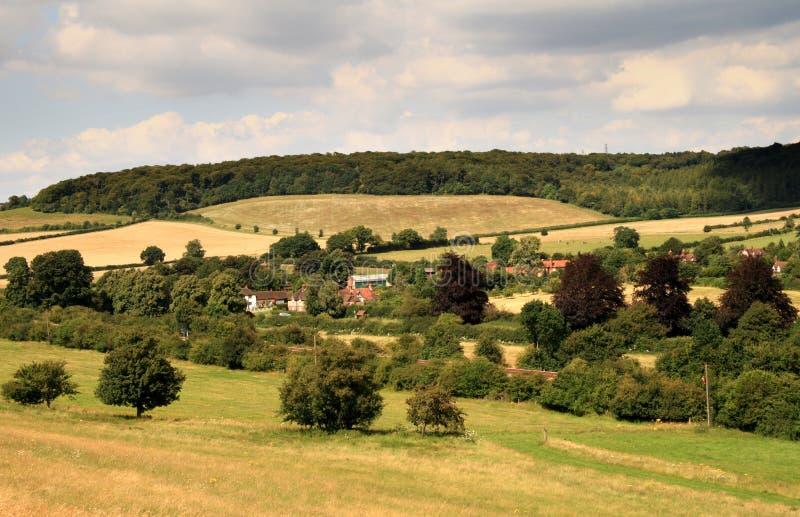 krajobraz anglikiem. zdjęcia royalty free