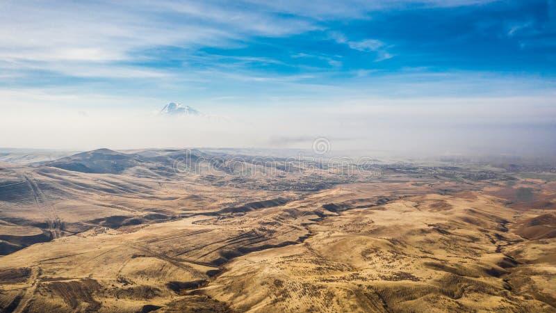 Krajobraz Armenii zdjęcie royalty free