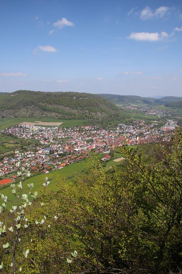 Krajobraz blisko Deggingen zdjęcie royalty free