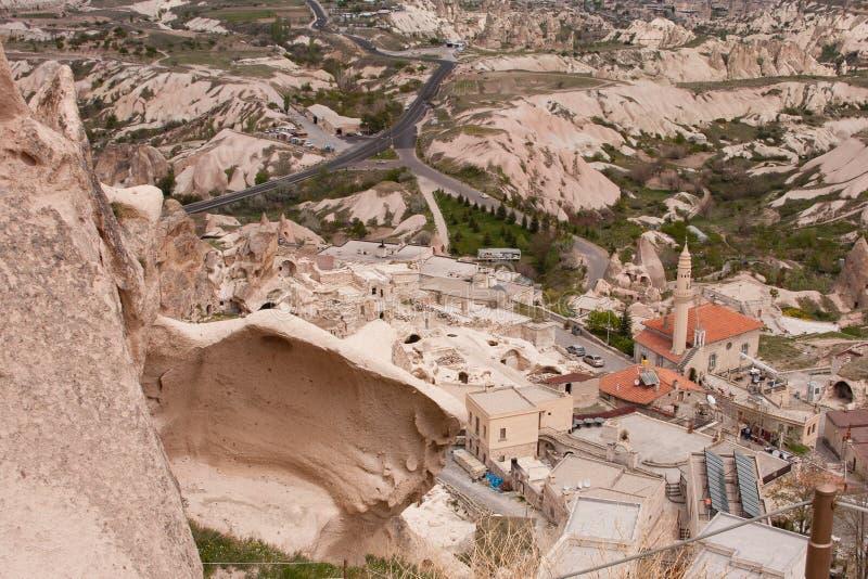 Krajobraz Cappadocia zdjęcia stock